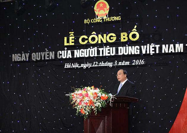Công bố Ngày Quyền của người tiêu dùng Việt Nam 15 tháng 3