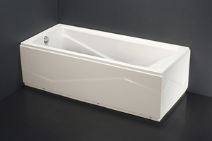 Bồn tắm chân yếm CAESAR AT0670L(R)
