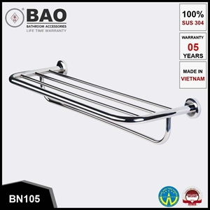 Thanh vắt khăn 2 tầng BAO BN105