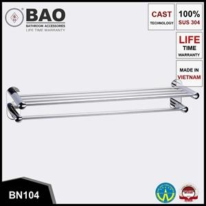 Thanh vắt khăn 2 tầng BAO BN104