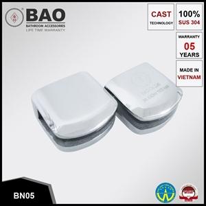 Kẹp kệ kính INOX BN05