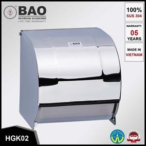 Hộp giấy vệ sinh kín BAO HGK02