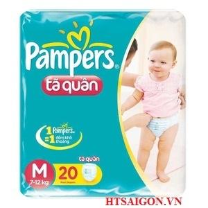 TÃ QUẦN PAMPERS M 20 MIẾNG
