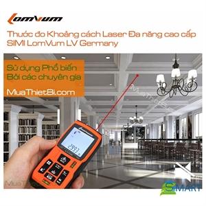 Thước Đo Tia Laser, Máy Đo Khoảng Cách Tia Laser, Thước Đo Laze Lomvum LV-40 Cao Cấp