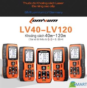 Thước Đo Tia Laser, Máy Đo Khoảng Cách Tia Laser, Thước Đo Laze Lomvum LV-60 Cao Cấp