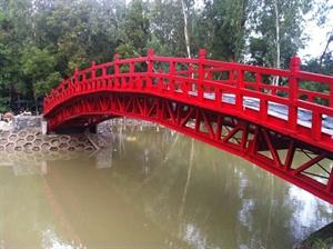 Cầu khu du lịch Làng Hoa Sa Đéc
