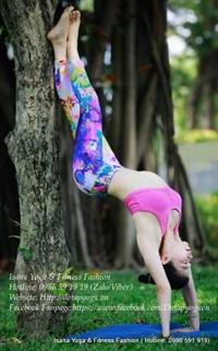 Quần tập Yoga-Gym-Zumba hoa văn
