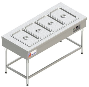 Bàn hâm nóng 4 khay <p>Food warmer 4 pans</P>