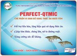 Chế phẩm vi sinh bổ sung thức ăn nuôi tôm PERFECT-QTMIC