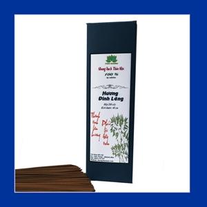 Nhang Sạch Thảo Mộc Hương Đinh Lăng 40cm - Không Hóa Chất Độc Hại