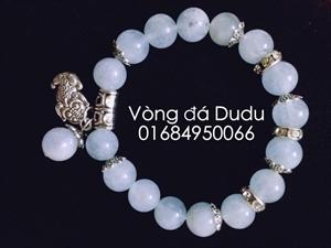 vòng đá phong thủy aquamarine