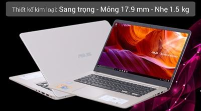 Laptop Asus S510UA i5 8250U/4GB/1TB/Win10/(BQ414T)