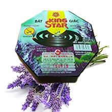 Nhang trừ muỗi bát giác 10 khoanh (hương lavender)