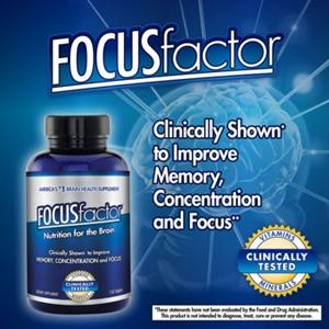 Thuốc bổ thần kinh Focus Factor - Hàng xách tay từ Mỹ
