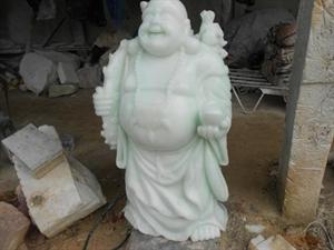 Thần tài đá ngọc xanh