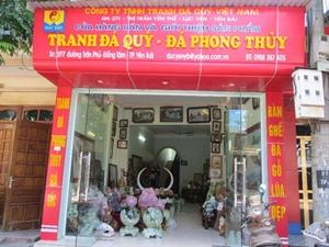 Tư vấn mở cửa hàng bánTranh đá quý - Đá phong thủy
