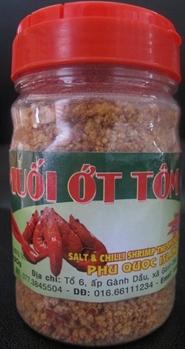 Muối Ớt Tôm Phú Quốc Hủ 120g