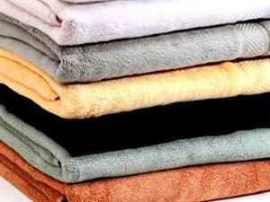 Khăn tắm nhiều màu