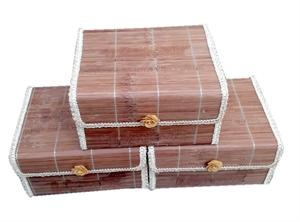 sản phẩm hộp tre rất thân thiện với môi trường