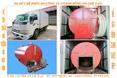 Máy hút bể phốt ( đặt trên ô tô thùng - tải 1,25 tấn)