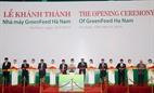 Hà Nam Khánh thành nhà máy Green feed trị giá 37 triệu usd