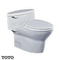 Bàn cầu 1 khối TOTO nhập khẩu CW904W/F