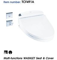 Nắp rửa điện tử WASHLET TOTO TCF491A (220V)
