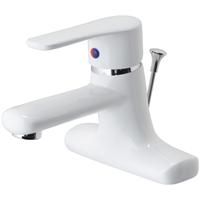 Vòi lavabo sơn trắng CAESAR B432CPW