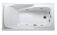 Bồn tắm massage xây CAESAR MT0460