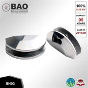 Kẹp kệ kính INOX BN03