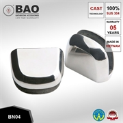 Kẹp kệ kính INOX BN04