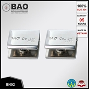 Kẹp kệ kính INOX BN02