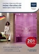 Grohe - Chương trình khuyến mại '' Phòng Tắm Đẳng Cấp Khách Sạn 5 Sao Ngay Tại Nhà ''