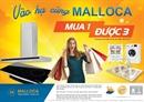 Khuyến mại chào hè 2017 cùng Malloca