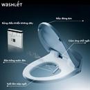Bảng kết hợp bàn cầu TOTO và nắp rửa điện tử WASHLET