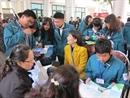 Ngày hội thông tin du học với các bạn học sinh trường THPT Nguyễn Tất Thành, Hà Nội
