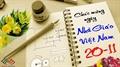 Chào mừng ngày nhà giáo Việt Nam 20.11