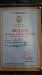 Sản phẩm bộ quà tặng Tâm Phúc Trà của HTX Được vinh dự đạt giải  sản phẩm công nghiệp nông thôn tiêu biểu cấp quốc gia năm 2017