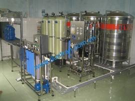 Hệ thống lọc nước 500l/h thủ công