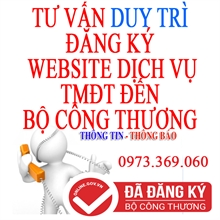 Dịch vụ duy trì đăng ký website sàn giao dịch thương mại điện tử