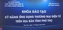 Tập huấn đào tạo kỹ năng ứng dụng thương mại điện tử trên địa bản tỉnh Phú Thọ