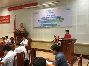 Tập huấn tại Long An, Tiền Giang, Bến Tre và Gia Lai