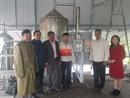 Nghiệm thu cơ sở đề án Đầu tư thiết bị chưng cất tinh dầu đa nguyên liệu tại huyện Phong Điền