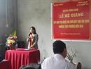 Tổ chức bế giảng và nghiệm thu cơ sở lớp đào tạo nghề làm chổi đót