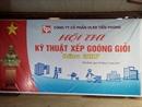 Hội thi xếp gòong tại Công ty cổ phần VLXD Tiền Phong