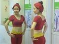 Áo croptop yoga/ gym/ zumba 8851