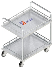 Xe đẩy 2 tầng <p>Trolley (2 level) <p/>