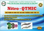 Nitro-QTMIC : Chế phẩm vi sinh cải tạo môi trường nuôi tôm, cá