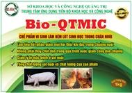 Bio-QTMIC: Chế phẩm vi sinh làm đệm lót sinh học trong chăn nuôi