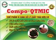 Chế phẩm vi sinh xử lý chất thải hữu cơ Compo - QTMIC